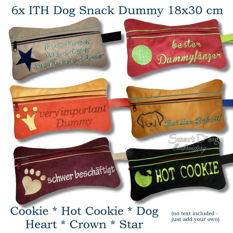 ITH Set 6x Snack Dummy 7x12 inch