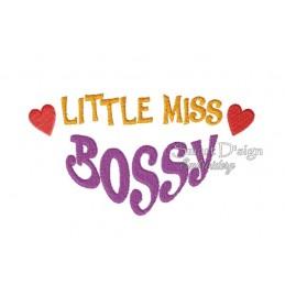 Little Miss Bossy 5x7 inch
