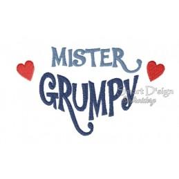 Mister Grumpy 5x7 inch