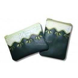 ITH 2x WAVE Silhouette Zipper Bag 5x7 inch