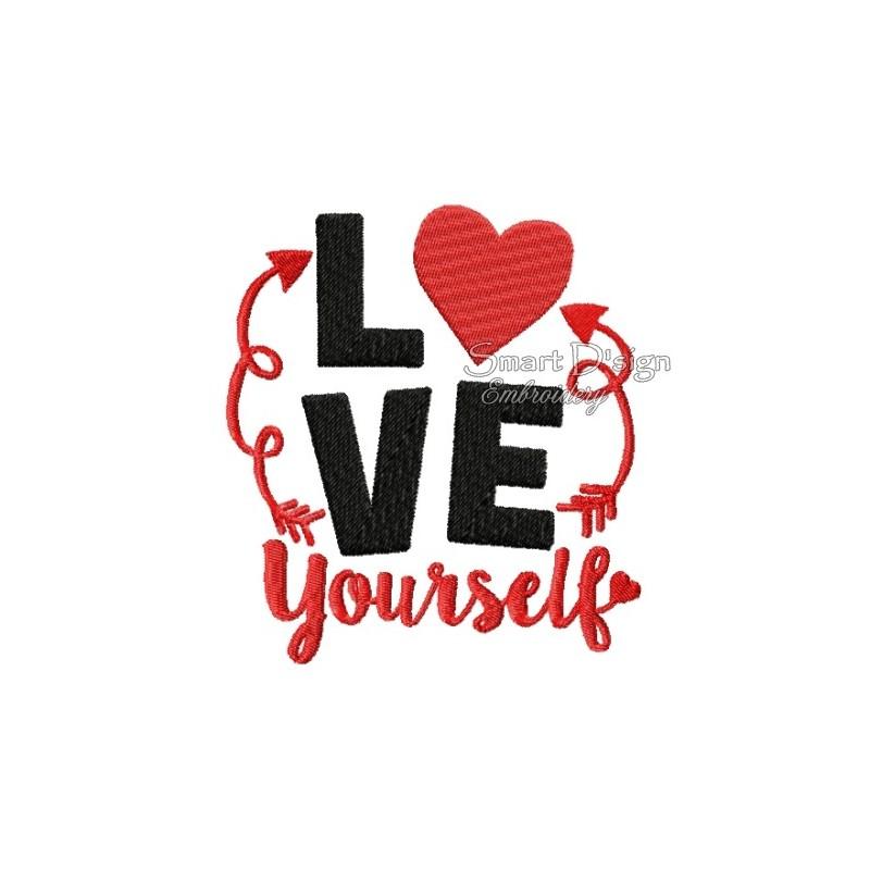 Love Yourself 13x18 cm