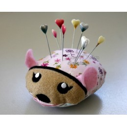 ITH MOUSE Pincushion 4x4 inch