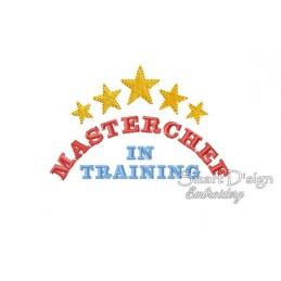 Masterchef In Training 4x4 inch