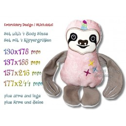 ITH SLOTH Star Unicorn 4 sizes