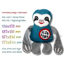 ITH SLOTH Slow Down 4 sizes