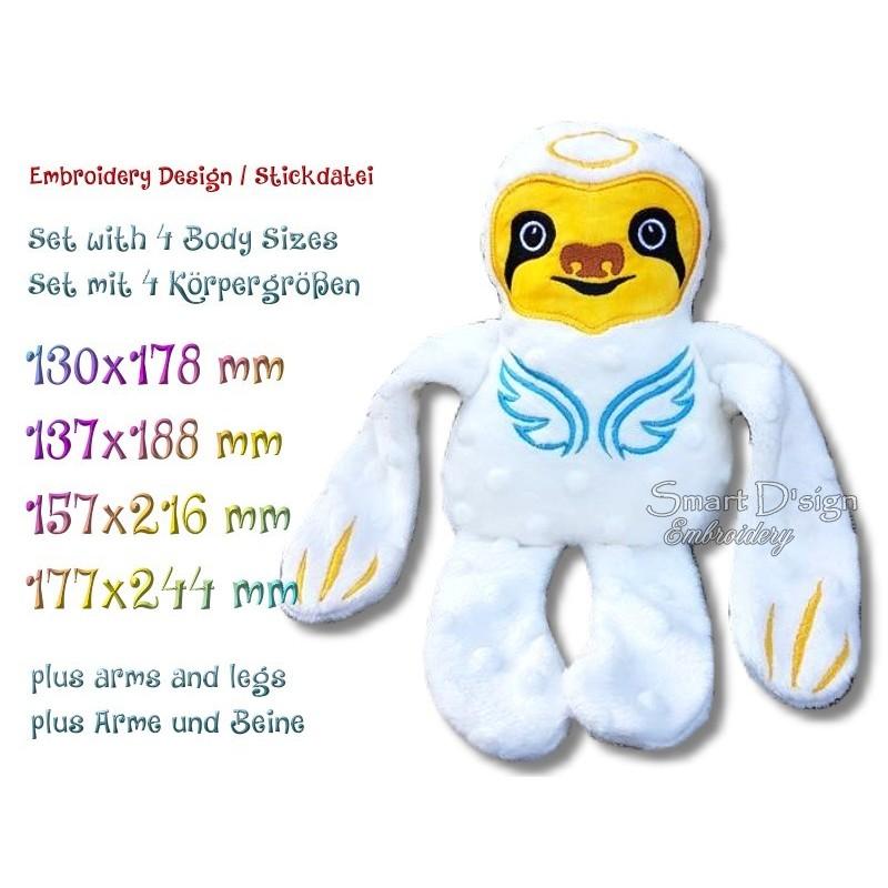 ITH SLOTH Angel 4 sizes