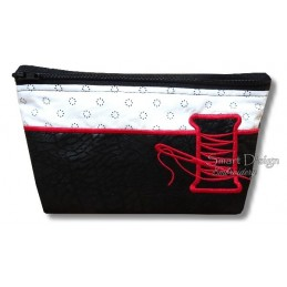 ITH NEEDLE & THREAD Silhouette Bag w. Inside Pockets 3 Sizes