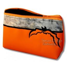 ITH HALLOWEEN BAT Silhouette Bag w. Inside Pockets 3 Sizes