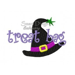 Witches Hat Halloween Motif 4.75x4.75 inch