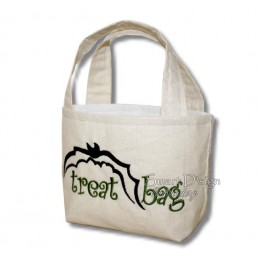 4x ITH Halloween Tote Treat Bags 7x12 inch