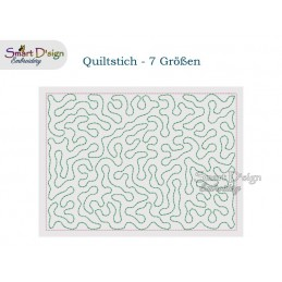 Quiltstich Design in 7 Größen - Freebie