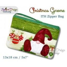 ITH Weihnachtszwerg RV Tasche 13x18 cm