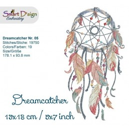 Dream Catcher Nr. 5 - 5x7""