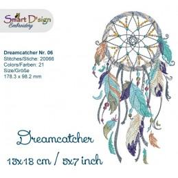 "Dream Catcher Nr. 6 - 5x7"""