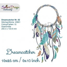 Dream Catcher Nr. 2 - 6x10