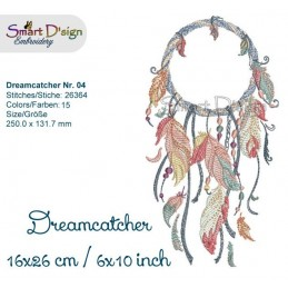 Dream Catcher Nr. 4 - 6x10""