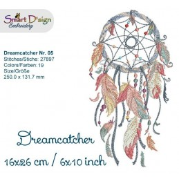 Dream Catcher Nr. 5 - 6x10""