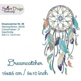 Dream Catcher Nr. 6 - 6x10""