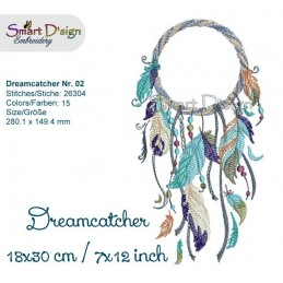 Dream Catcher Nr. 2 - 7x12