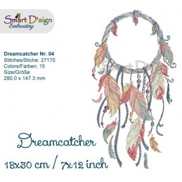 Dream Catcher Nr. 4 - 7x12""