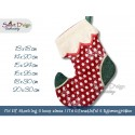 ITH Elf Christmas Stocking 6 Sizes included