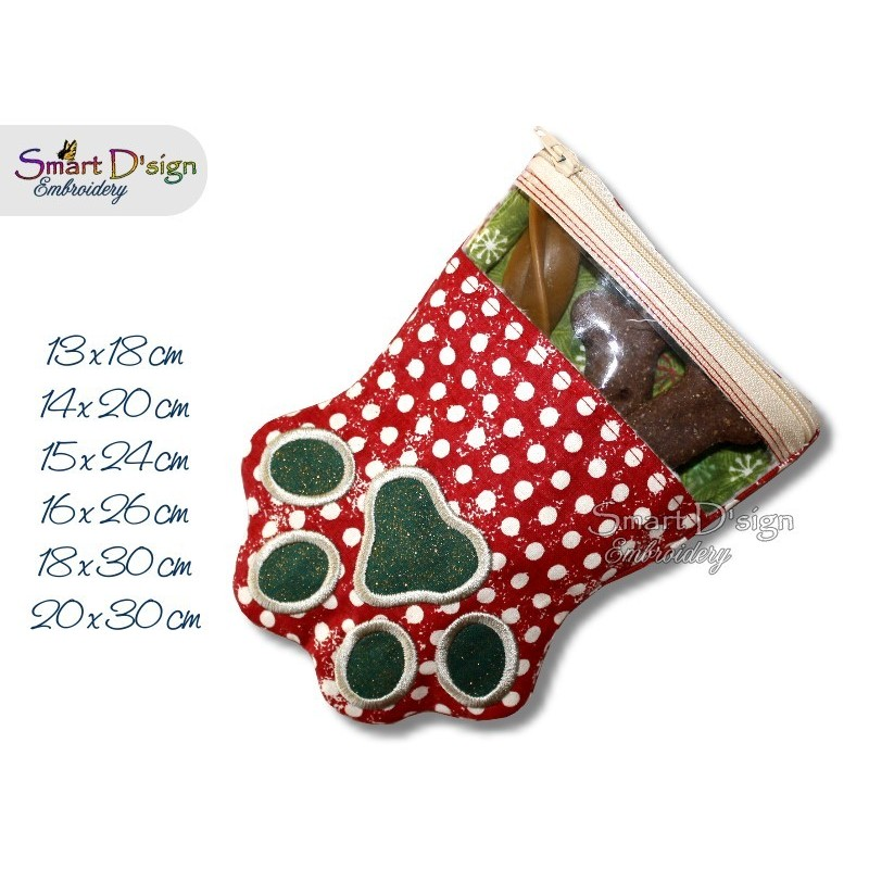 ITH Paw Cat Dog Spy Zipper Bag 6 Sizes included