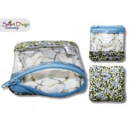 ITH Spy Window Zipper Bag SMALL 4x4 hoop size