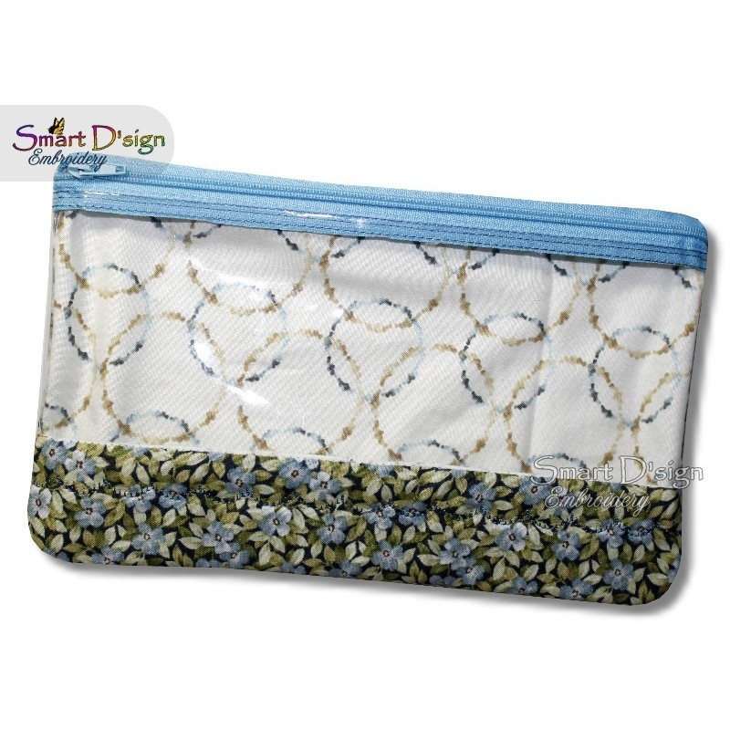 ITH Spy Window Zipper Bag X-LARGE 6x10 hoop size