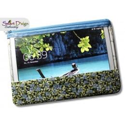 ITH Reißverschluss XX-LARGE Fenstertasche Tablet 20x30 cm Rahmen