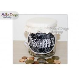 ITH Saving Jar Label GESCHENKE 4x4 inch