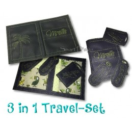 Travel Set 6 - Passport Cover & Luggage Tags 6x10 inch