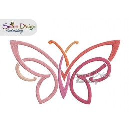 Tribal Butterfly 3 Sizes
