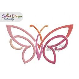 Tribal Schmetterling 3 Größen