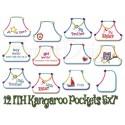 ITH Kangaroo Pockets 12 Motifs 5x7 inch