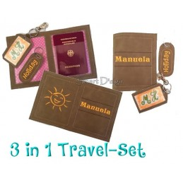 Travel Set 8 - Passport Cover & Luggage Tags 6x10 inch