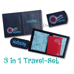 Travel Set 9 - Passport Cover & Luggage Tags 6x10 inch