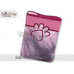 ITH PAW Silhouette Zipper Bag 5x7 inch