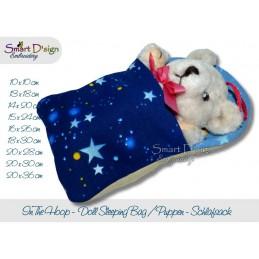 ITH Schlafsack für Puppen und Teddies 9 Größen im Set