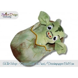 ITH Dragon Doll with Sleeping Bag 5x7 inch