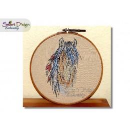 HAED War Pony Cross Stitch pattern