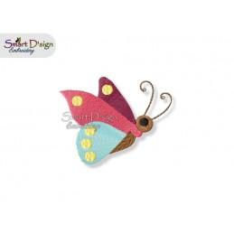 Schmetterling 10x10 cm - Teil des Sets Magische Ponies