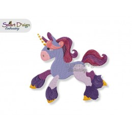 Einhorn 01 13x18 cm - Teil des Sets Magische Ponies