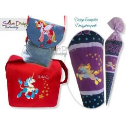 Unicorn 02  5x7 inch - part of the Magic Ponies Series