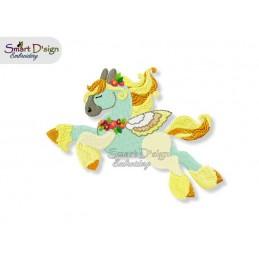 Einhorn 02 13x18 cm - Teil des Sets Magische Ponies