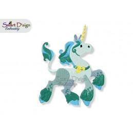 Einhorn 03 13x18 cm - Teil des Sets Magische Ponies