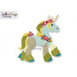 Unicorn 05  5x7 inch - part of the Magic Ponies Series