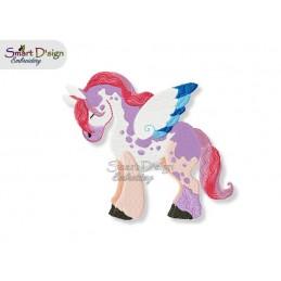 Pegasus Einhorn 06 13x18 cm - Teil des Sets Magische Ponies