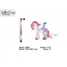 Unicorn 06  5x7 inch - part of the Magic Ponies Series