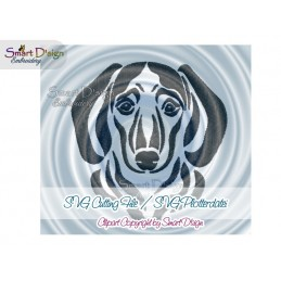 Dachshound Silhouette SVG Cutting File