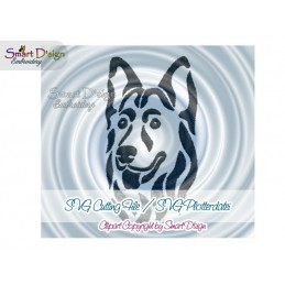 German Shepherd SVG Cutting File